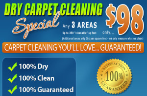 Amarillo Dry Carpet Cleaning - Carpet Cleaning Special