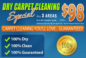Amarillo Dry Carpet Cleaning - $98 Carpet Cleaning Special