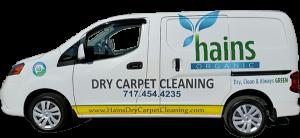 Hains Dry Carpet Cleaning Van