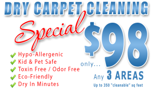 98 Dollar carpet cleaning special at hains carpet cleaning
