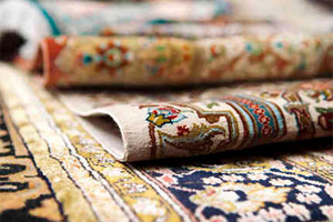 Area rugs cleaned by Hains Area Rug Cleaning service