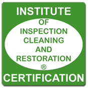 Certification of Inspection, cleaning and restoration.